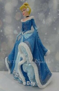 2019 NEW Jim Shore DISNEY Showcase 4th in Holiday Princess Series Cinderella