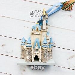 2020 Disney Parks Exclusive Cinderellas Castle Ornament New