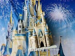 2020 Disney World Parks Cinderella Castle Ornament New Miniature Figural House