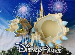 2021 Disney Parks Magic Kingdom Cinderella Castle Ceramic Cookie Jar Canister