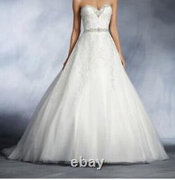 Alfred Angelo Disney's Cinderella style 272 size 12 ivory