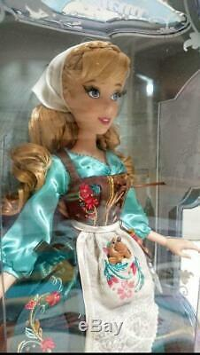 Authentic Disney Store Limited Cinderella 70th Anniversary Doll Japan NEW FedEx