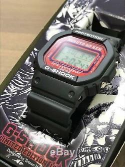 CASIO Watch G-SHOCK x Hokuto No Ken Collaboration DW-5600-VT NEW