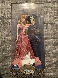 Cinderella And Lady Tremaine Disney Fairytale Designer Collection Doll NIB