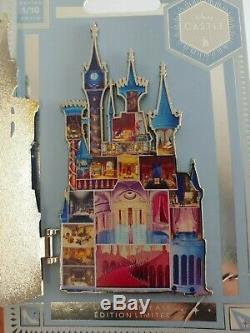 Cinderella Castle Pin Disney Castle Collection Limited Release Series 1 Of 10