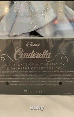Cinderella Disney Designer Collection Premiere Series Doll LE IN HAND