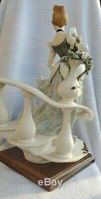 Cinderella Giuseppe Armani Signed #0783C Disney 1992 #52/500 NEW Org Box & COA
