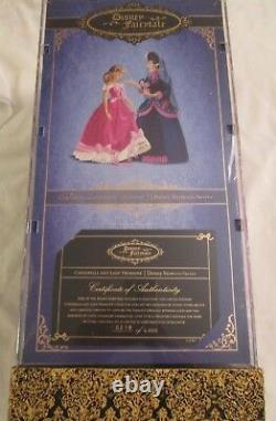 Cinderella & Lady Tremaine Disney Limited Designer Doll Set 19/6000 Fairytale