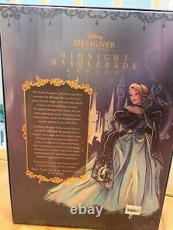 Cinderella Limited Edition Doll Disney Designer Collection Midnight Masquerade
