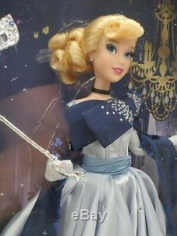 Cinderella Limited Edition Doll Disney Designer Midnight Masquerade Series