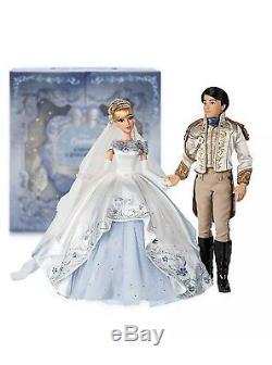 Cinderella & Prince Charming Limited Edition Wedding Doll Set 70th Anniversary