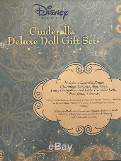 DISCOUNTED! Disney Cinderella Deluxe Classic Doll Gift Set RARE/ Brand NEW