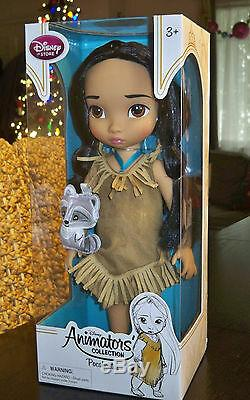 DISNEY ANIMATORS COLLECTION 16 Princess Doll Set of 10 NEW Ariel Cinderella