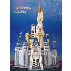 DISNEY CASTLE Set 71040 Disney's Cinderella Castle Building Blocks New Bricks