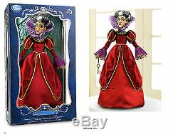 DISNEY CINDERELLA 17 Doll LADY TREMAINE Limited Edition 1500 Evil Stepmother