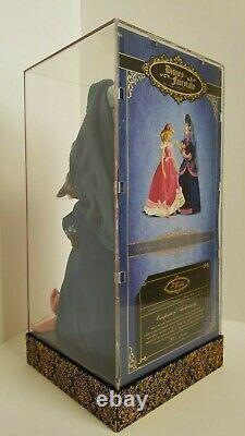 DISNEY DESIGNER FAIRYTALE CINDERELLA LADY TREMAINE Limited Edition DOLL SET