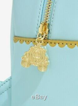 DISNEY Loungefly Mini Backpack CINDERELLA SEWING DRESS withGUS & JAG