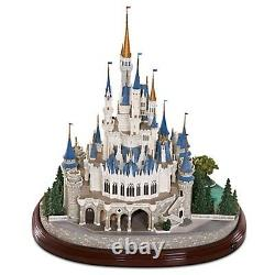 DISNEY'S CINDERELLA CASTLE Olszewski Miniature DISNEYWORLD MAIN ST. USA