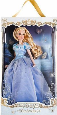 DISNEY STORE LIMITED EDITION LIVE ACTION CINDERELLA DOLL 17 new in box