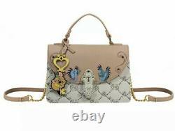Danielle Nicole Disney Cinderella Monogram Crossbody Bag Gus Gus Blue Birds NWT
