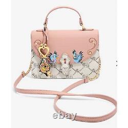 Danielle Nicole Disney Cinderella Monogram Crossbody Bag NWT