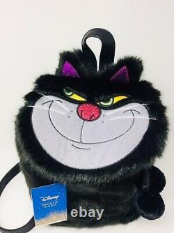 Danielle Nicole Disney Collection Cinderella Lucifer Villain Cat Backpack NWT