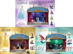 Deagostini Japan Disney Dream Theater Set Cinderella /Little Mermaid Music&Light