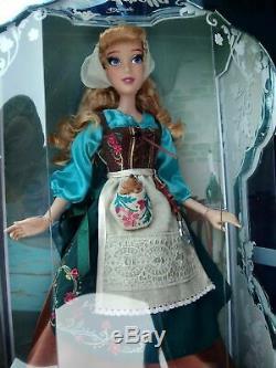 Disney 70th Anniversary Cinderella Peasant Dress 17 Doll (Limited Edition 5200)