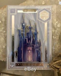 Disney Castle Collection 1/10 Limited Release Cinderella Jumbo Pin IN HAND New
