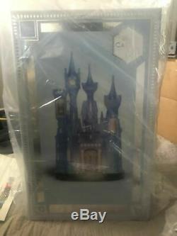 Disney Castle Collection Cinderella Light Up Castle Figurine Limited Edition