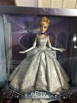 Disney Cinderella 17 SAKS Fifth Avenue Exclusive LE Doll IN HAND Brand new