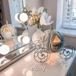 Disney Cinderella Carriage Scentsy Warmer With Wax Bar And Scent Circle