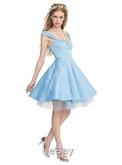 Disney Cinderella Corset Ball Prom Gown Blue Party Dress Torrid Plus Size 28 NWT