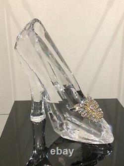 Disney Cinderella Glass Slipper Display Piece 2015 SUPER RARE