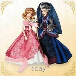 Disney Cinderella & Lady Tremiane Fairytale Limited Edition Doll Set NIB