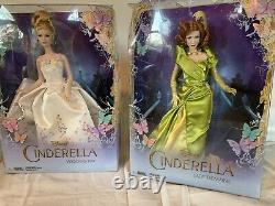 Disney Cinderella Live Action doll set HTF