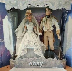 Disney Cinderella Prince Charming Wedding Platinum Limited Edition Doll