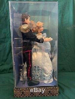 Disney Cinderella and Prince Charming Doll Set Fairytale Designer LE 6000 Store