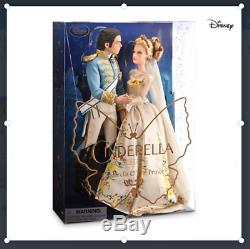 Disney Cinderella and The Prince Disney Film Collection Doll Set Live Action