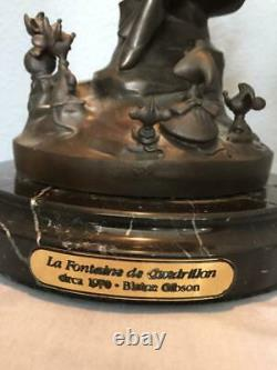 Disney Collectible Cinderella Bronze Statue 1988