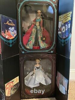 Disney Designer Collection Premiere Series Doll COMPLETE SET LIMITED EDITION NEW