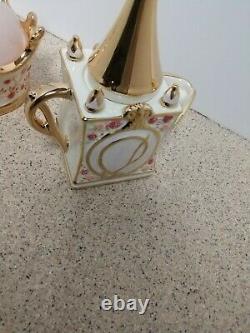Disney Direct Cinderella Royal Dreams Castle Tea Set Creamer Sugar Lid