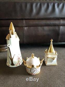 Disney Direct Cinderella Royal Dreams Castle Tea Set LE