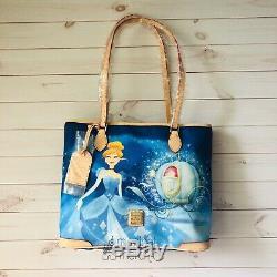 Disney Dooney And Bourke Cinderella Dream Big Princess Tote Bag Purse NWT
