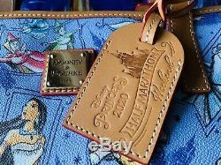 Disney Dooney & Bourke 2020 Princess Half Marathon Tote NWT Cinderella Belle