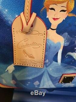 Disney Dooney Cinderalla Tote And Wallet NWT