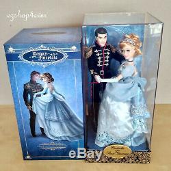 Disney Fairytale Designer Collection Doll Set Cinderella & Charmig 123/6000