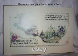 Disney Gallery Cinderella Replica Treasure Storybook Jewelry Box Book Prop COA