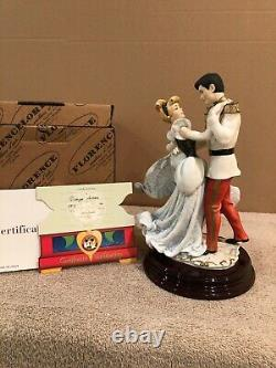 Disney Giuseppe Armani Cinderella and Prince Charming + Box & COA