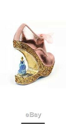 Disney Irregular Choice HOME BEFORE 12 Cinderella Heel Pumps Pink 40 US 9